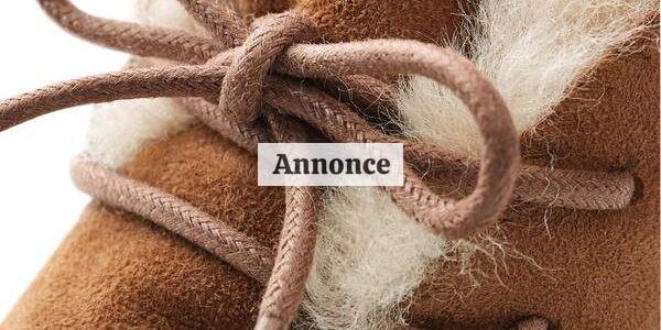 Eksklusive og lækre lammeskinds hjemmesko